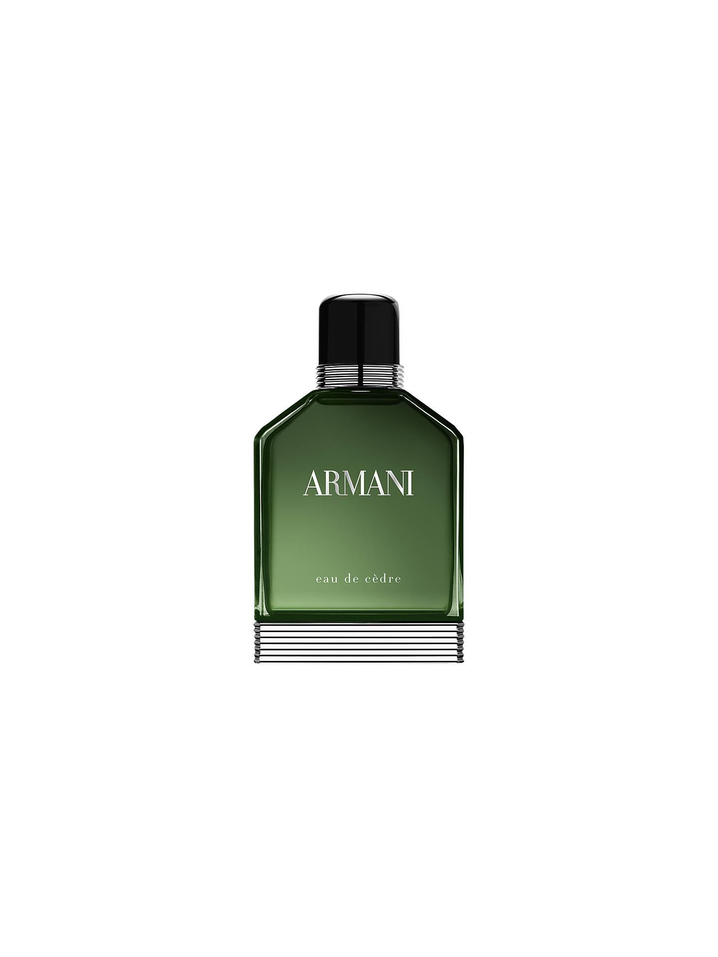 BuyGiorgio Armani Eau De Cèdre Eau de Toilette, 100ml Online at  johnlewis.com 1134002fa7c9