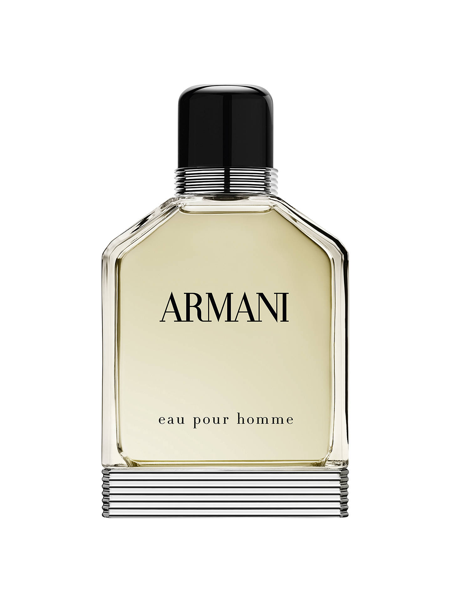 BuyGiorgio Armani Eau Pour Homme Eau de Toilette, 100ml Online at  johnlewis.com 6ce6804acfb8