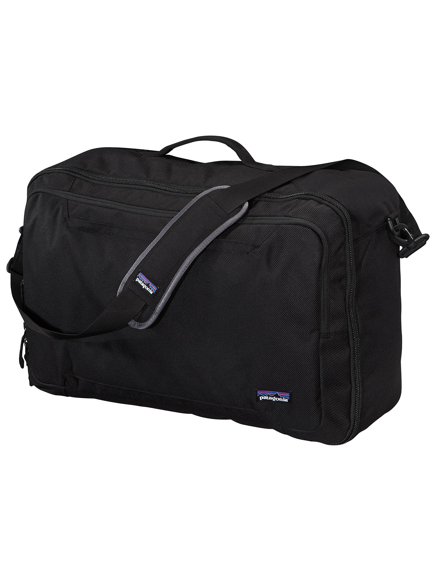 Patagonia Transport M L C Convertible 45l Shoulder Bag Black