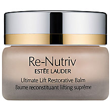 Buy Estée Lauder Re-Nutriv Ultimate Lift Restorative Balm Online at johnlewis.com