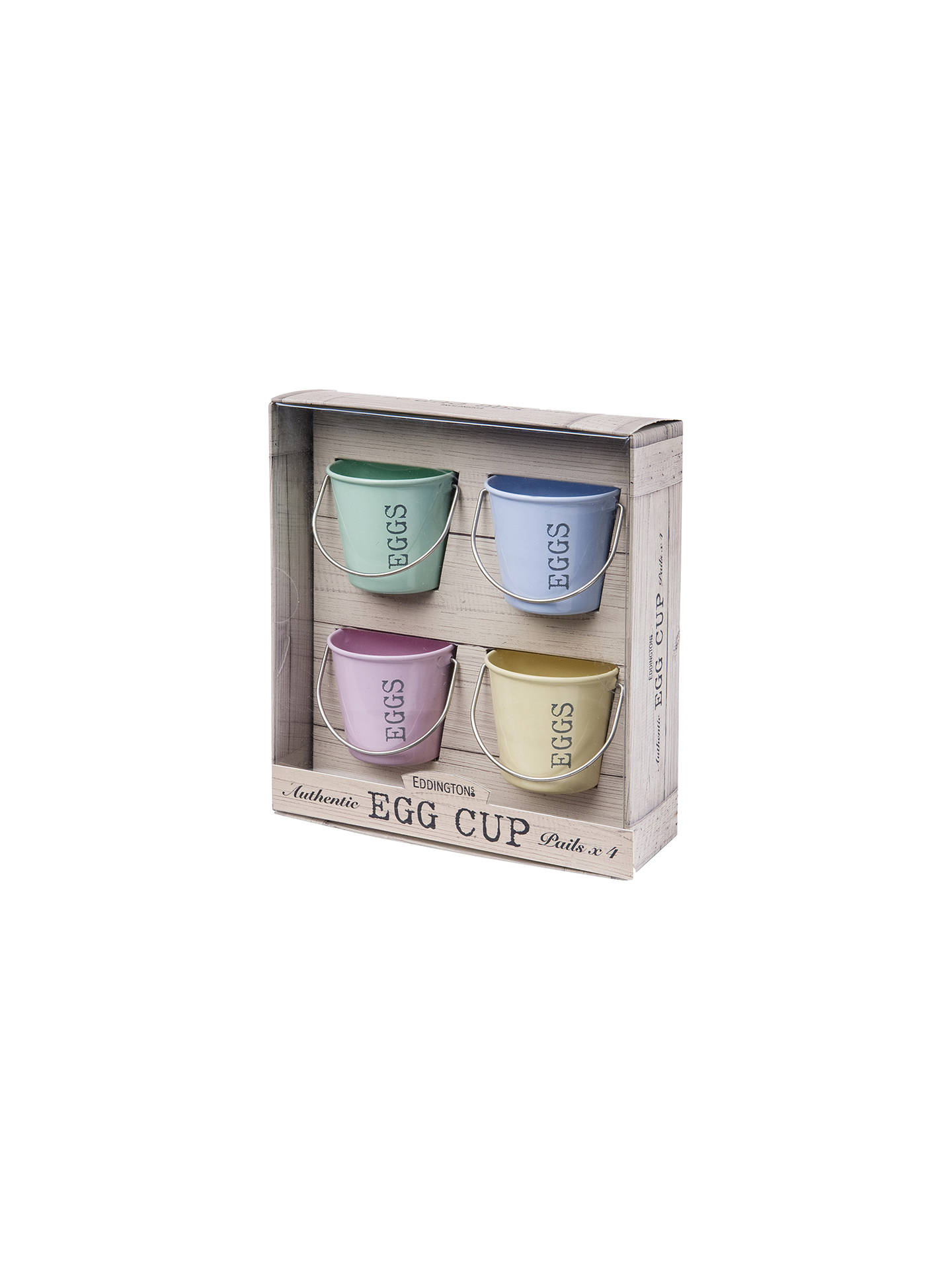 Buy Eddingtons Pastel Egg Cup Buckets, Set of 4 Online at johnlewis.com