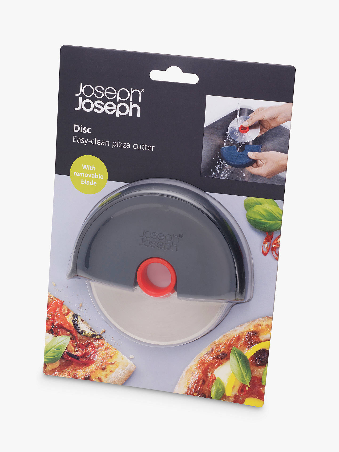 BuyJoseph Joseph Disc Easy-Clean Pizza Wheel Online at johnlewis.com