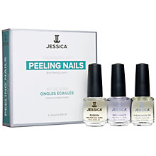 Buy Jessica Peeling Nails Treatment Kit, 3 x 7.4ml Online at johnlewis.com