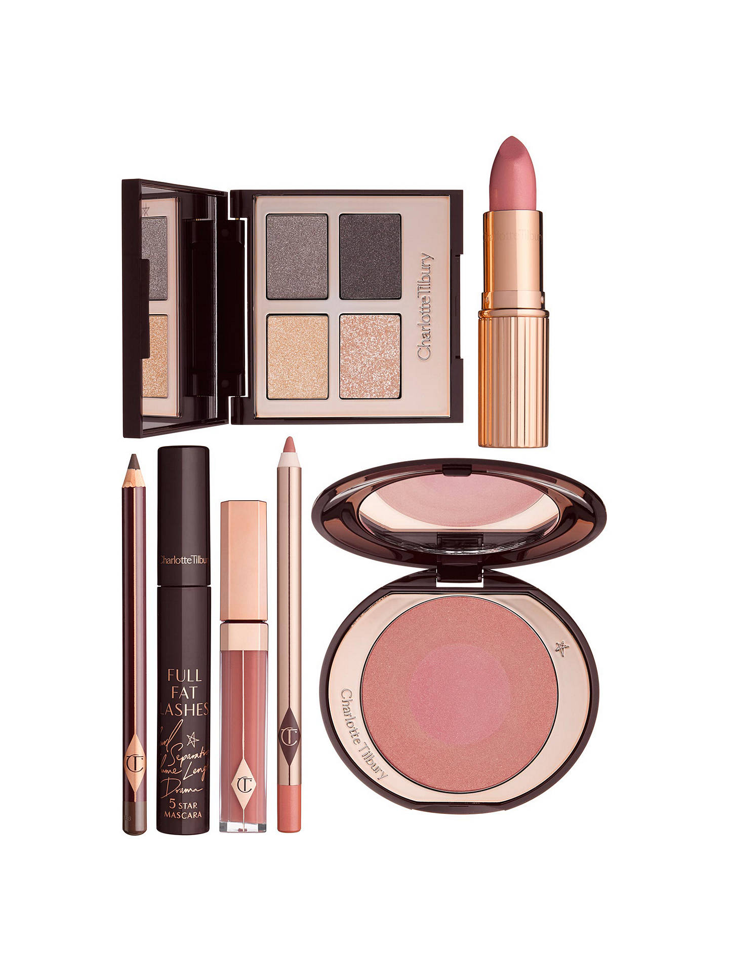 Buy Charlotte Tilbury Lip Lustre Lip Lacquer, Sweet Stiletto Online at johnlewis.com