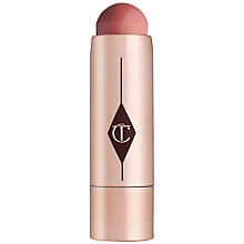 Buy Charlotte Tilbury Beach Stick Lip To Cheek Dewy Colour Pop Online at johnlewis.com