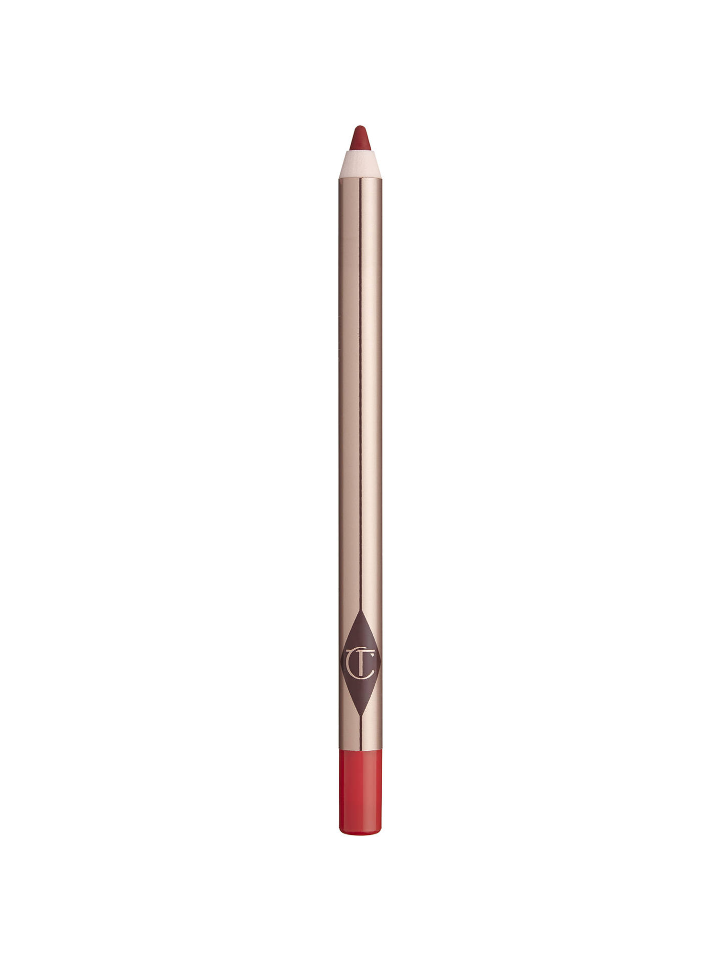 Buy Charlotte Tilbury Lip Cheat Lip Liner Pencil, Kiss 'N' Tell Online at johnlewis.com