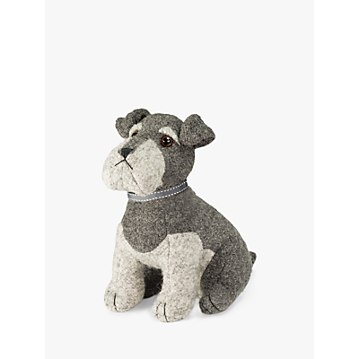 Dora Designs Sugar Bear The Schnauzer Doorstop