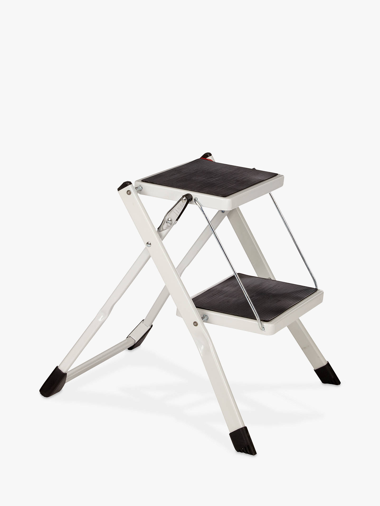 Incredible John Lewis Partners 2 Step Folding Stool Mini White Caraccident5 Cool Chair Designs And Ideas Caraccident5Info