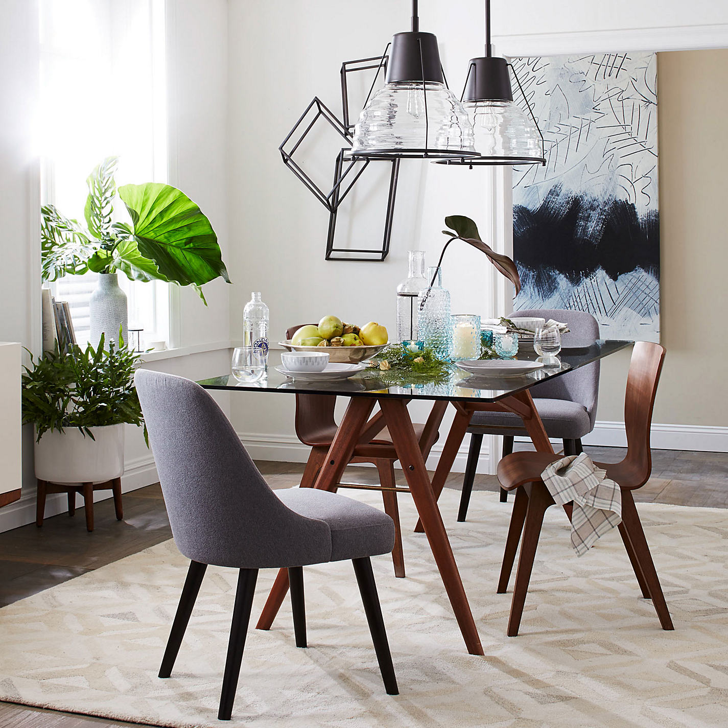 Folding side table john lewis -  Buy West Elm Jensen Dining Table Online At Johnlewis Com