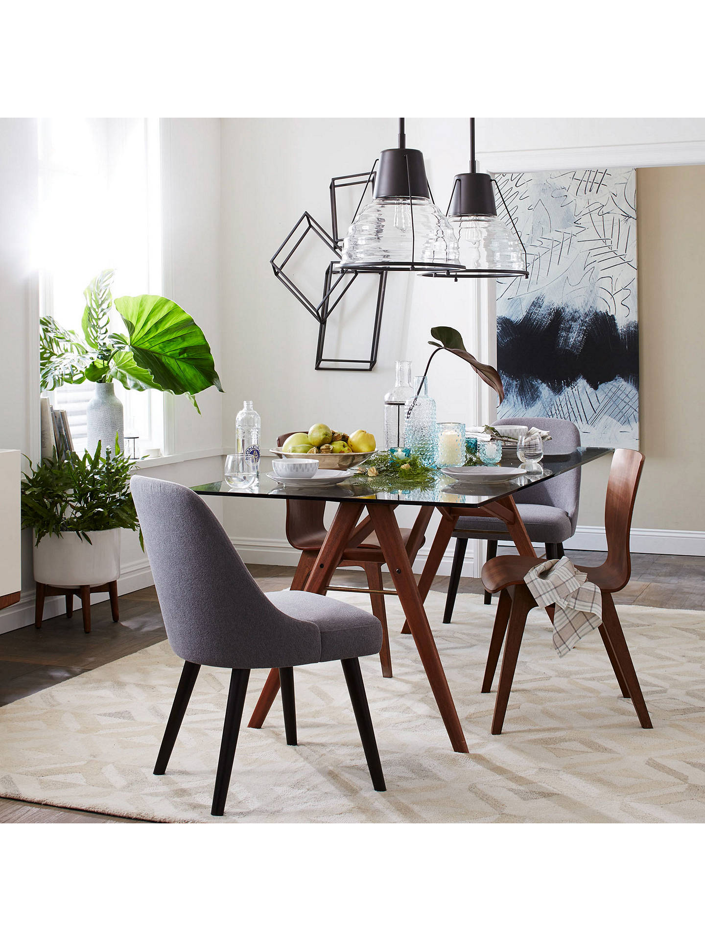 Buywest elm jensen dining table online at johnlewis com
