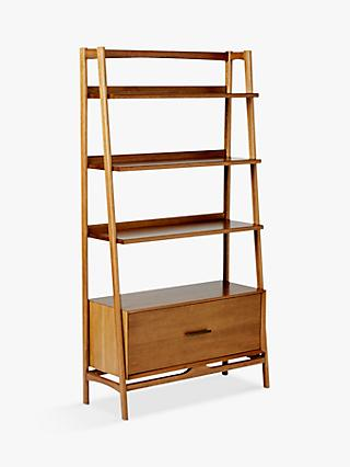 West Elm Mid Century Wide Bookshelf