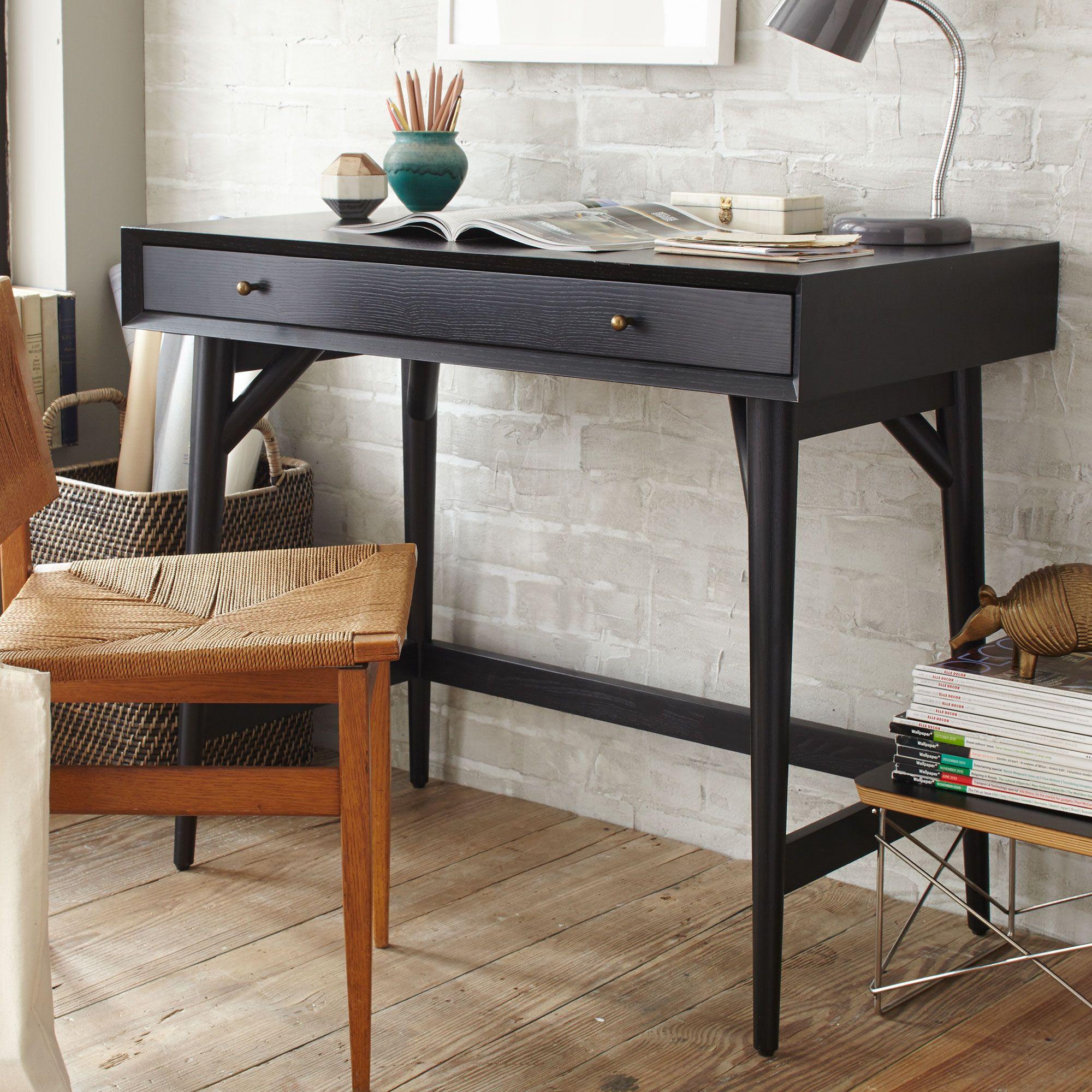 Picture of: West Elm Mid Century Mini Desk At John Lewis Partners