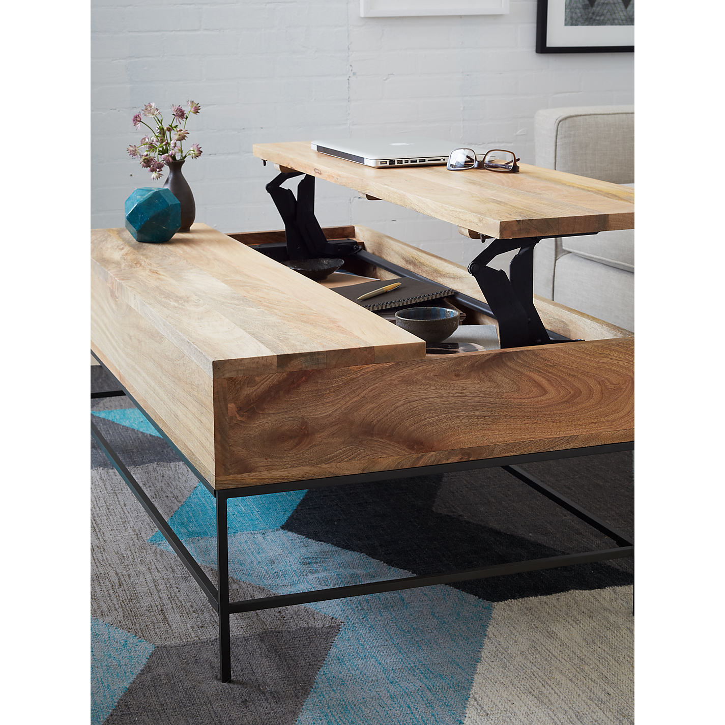 Buy west elm Industrial Storage Coffee Table