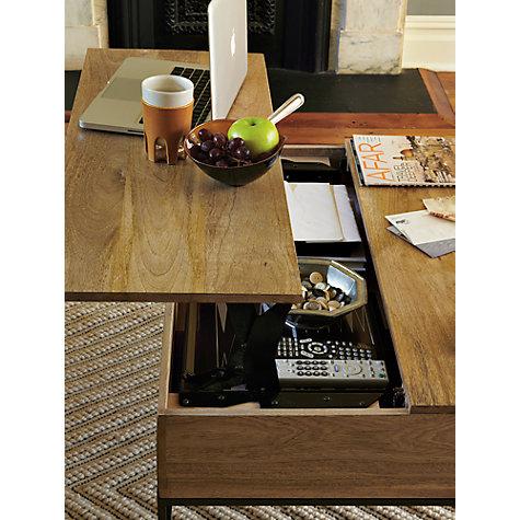 West Elm Storage Coffee Table Online At Johnlewis