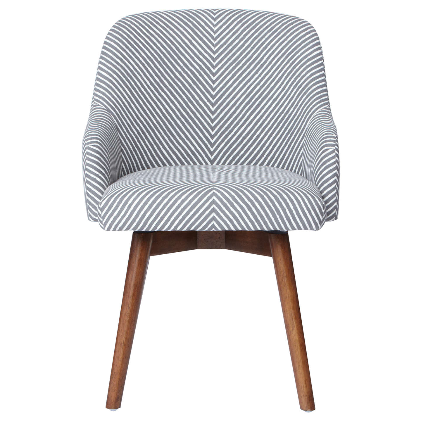 west elm saddle office chair painted stripe gravel at. Black Bedroom Furniture Sets. Home Design Ideas