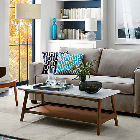 buy west elm reeve mid century rectangular coffee table john lewis. Black Bedroom Furniture Sets. Home Design Ideas