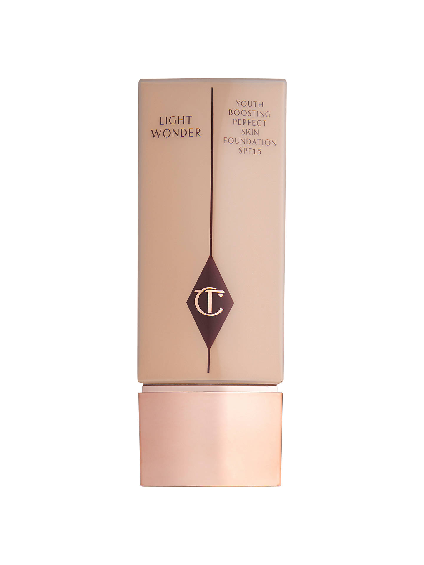 Buy Charlotte Tilbury Light Wonder Foundation, 4 Fair Online at johnlewis.com