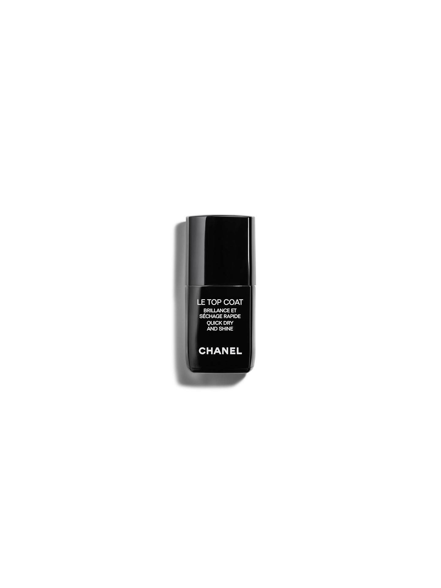 BuyCHANEL LE TOP COAT Quick Dry And Shine Online at johnlewis.com