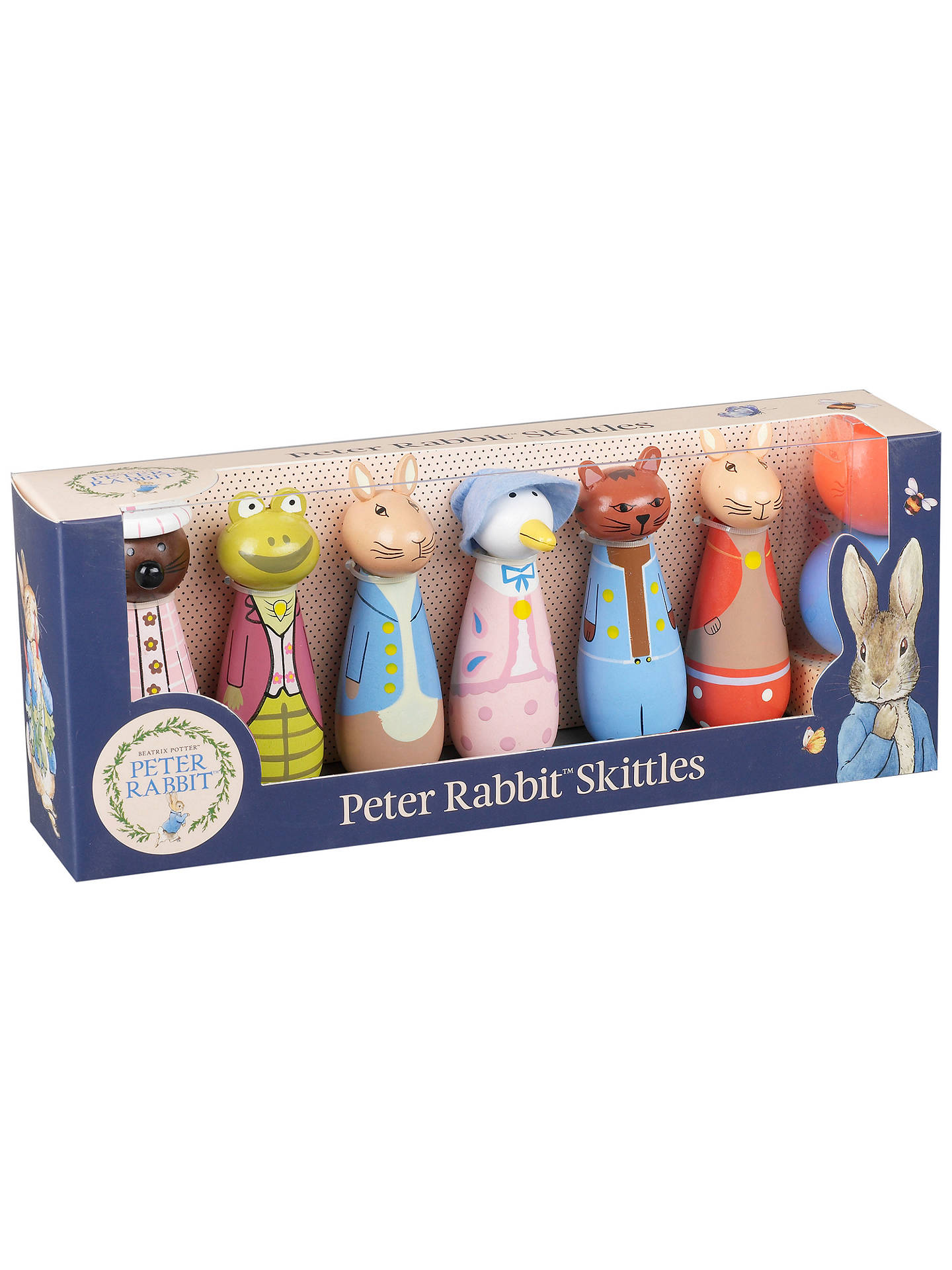 BuyOrange Tree Peter Rabbit Skittles Set Online at johnlewis.com