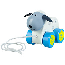 Buy Orange Tree Sheep Pull Along Toy Online at johnlewis.com