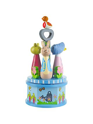 Orange Tree Peter Rabbit Carousel Music Box
