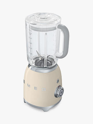 Buy Smeg BLF01PBUK 50s Retro Style Food Blender, Cream Online at johnlewis.com