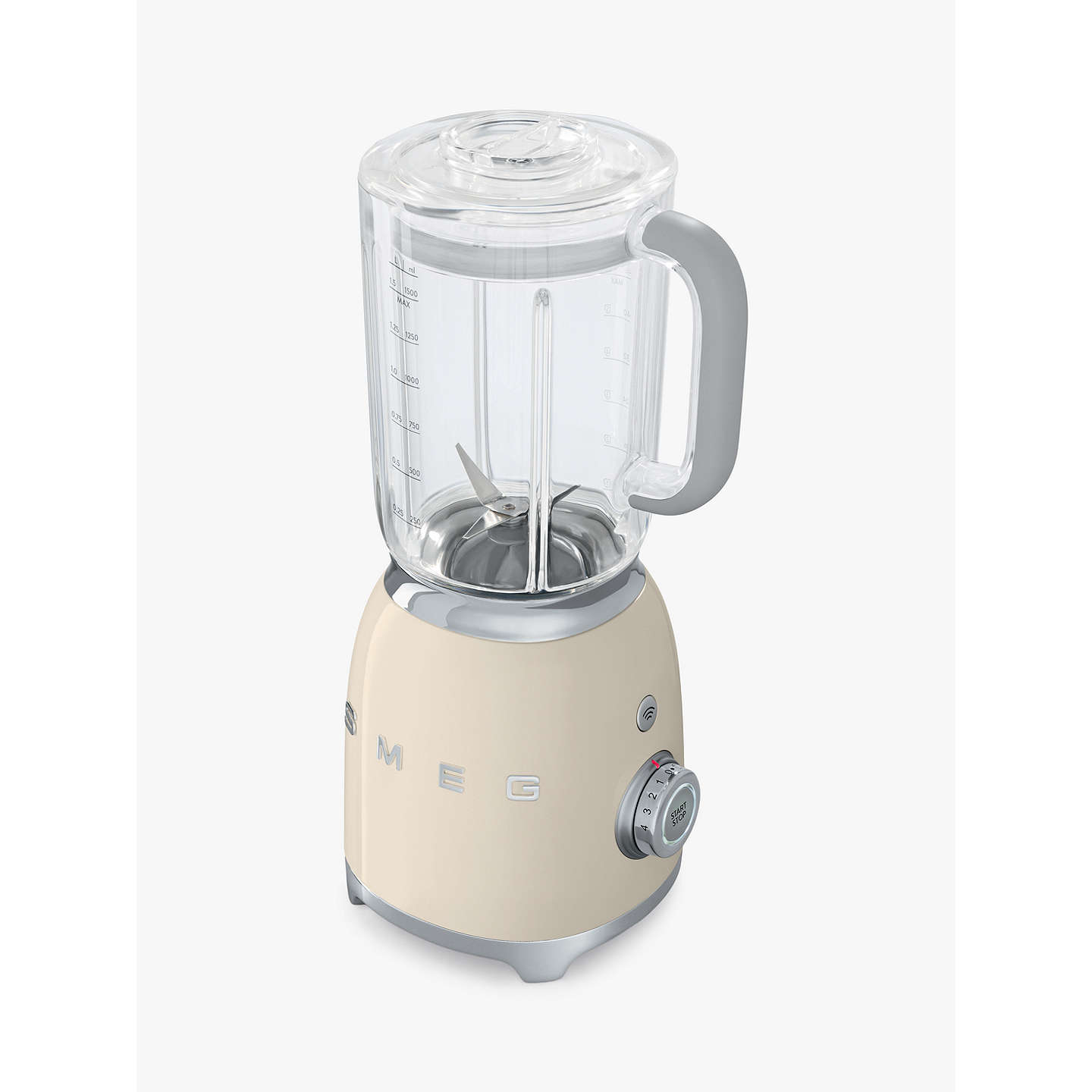 BuySmeg BLF01PBUK 50s Retro Style Food Blender, Cream Online at johnlewis.com