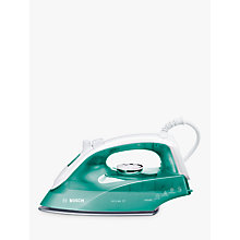 Buy Bosch TDA2623GB Steam Iron, Green Online at johnlewis.com