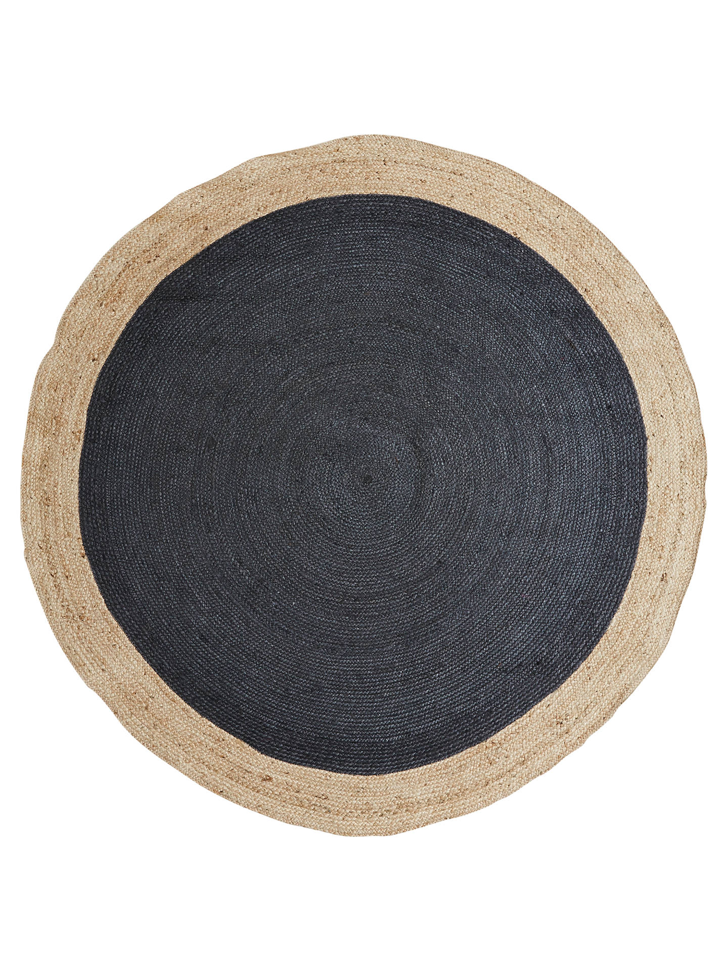 Border Round Jute Rug At John Lewis
