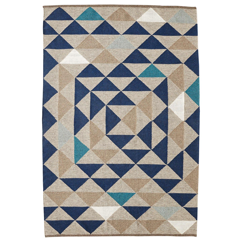 Kilim Rug John Lewis: West Elm Framed Triangles Wool Kilim Rug At John Lewis