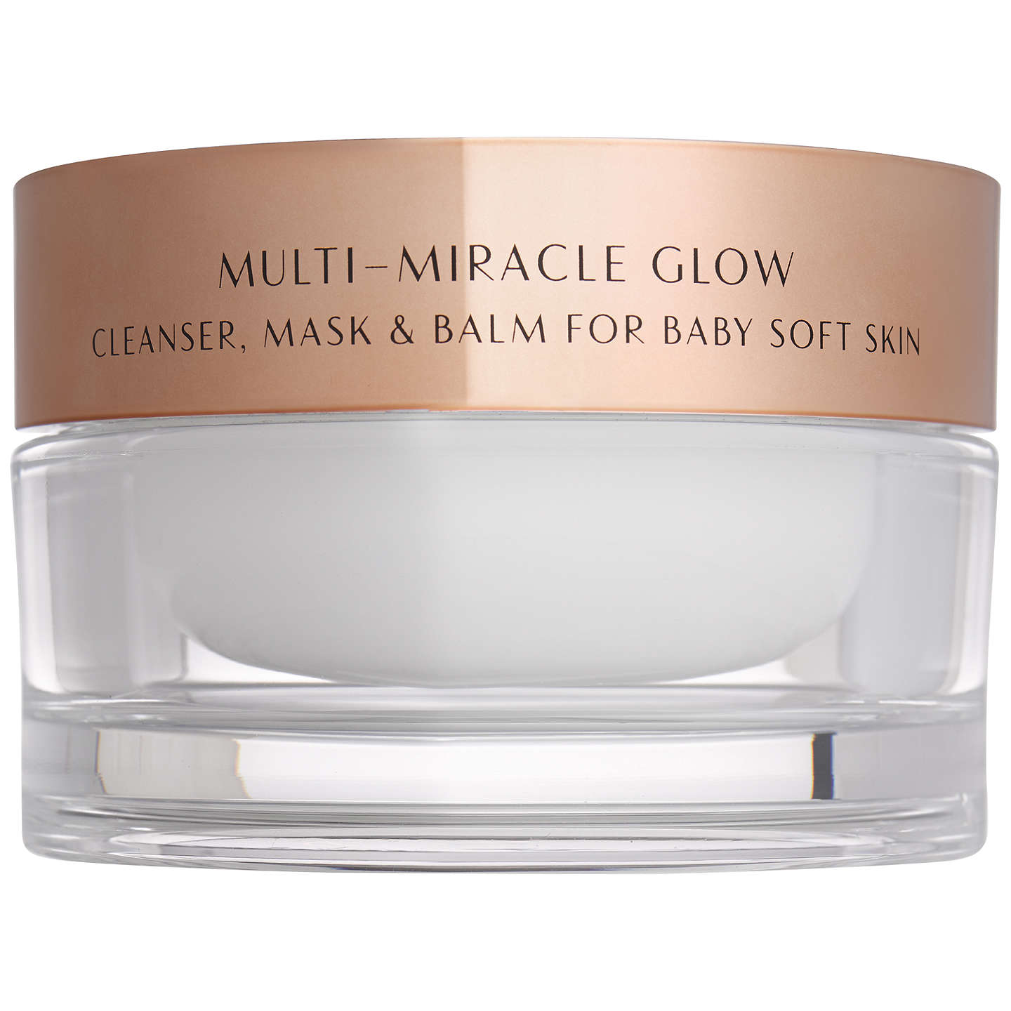 BuyCharlotte Tilbury Multi-Miracle Glow Cleanser, Mask & Balm, 100ml Online at johnlewis.com