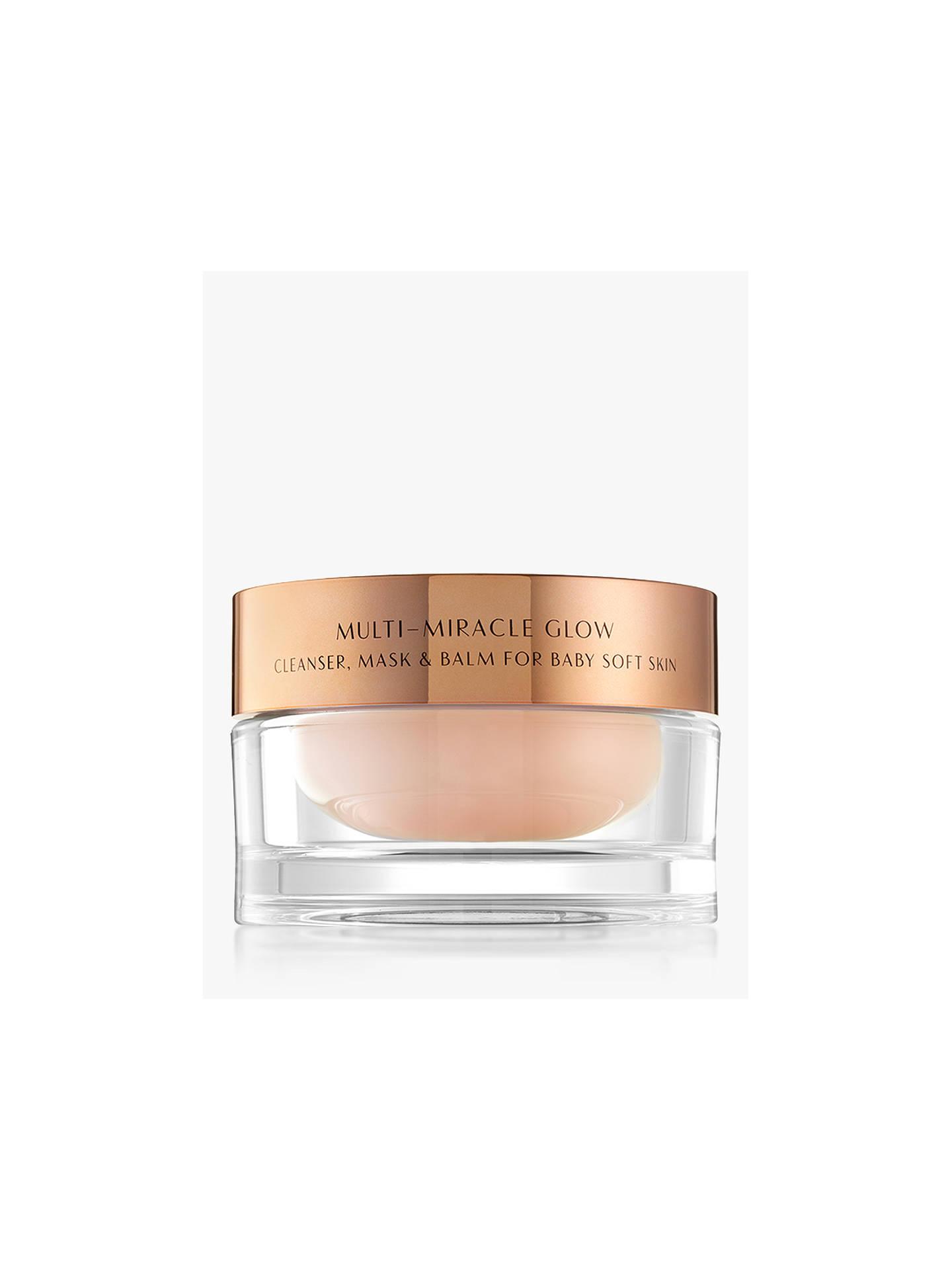 BuyCharlotte Tilbury Multi-Miracle Glow Cleanser, Mask   Balm, 100ml Online  at johnlewis ... b9e1b4734b0e