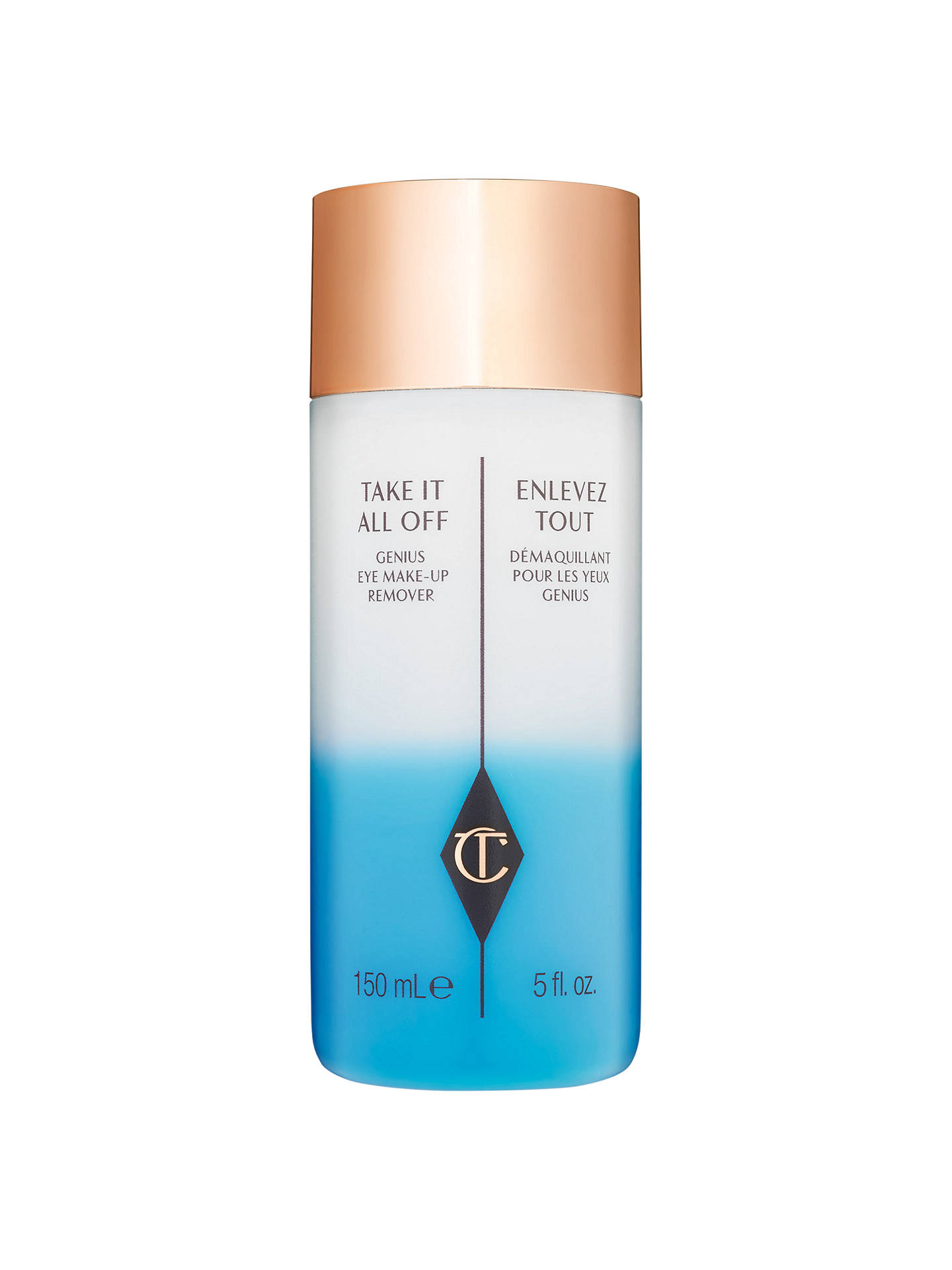 BuyCharlotte Tilbury Take It All Off Genius Eye Makeup Remover, 150ml Online at johnlewis.com