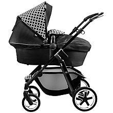 Buy Silver Cross Pioneer Black Links Pushchair Bundle with Free Changing Bag and Simplicity Car Seat Online at johnlewis.com