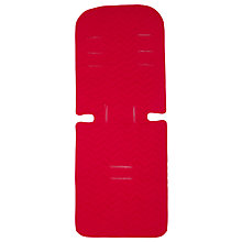 Buy John Lewis Reversible Seat Liner, Red/Grey Online at johnlewis.com