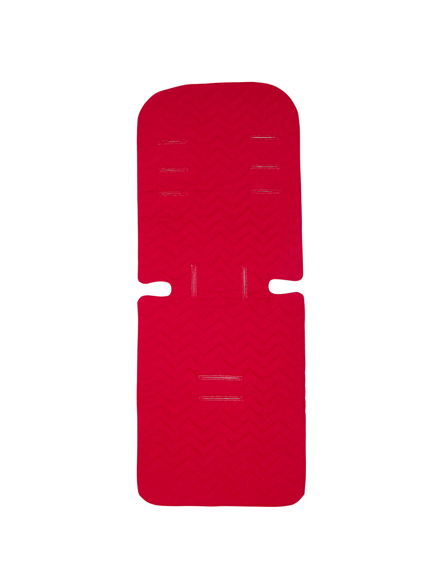 BuyJohn Lewis & Partners Reversible Seat Liner, Red/Grey Online at johnlewis.com
