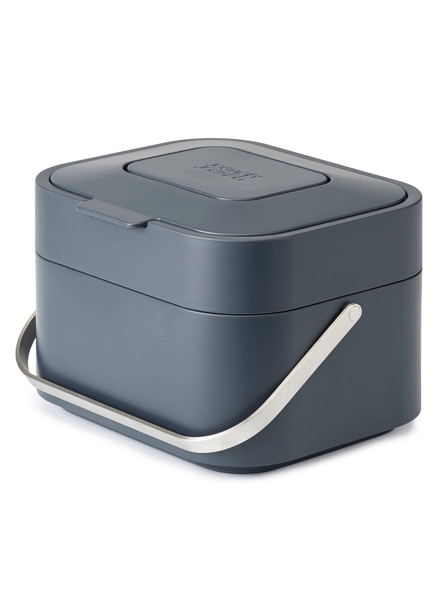 BuyJoseph Joseph Stack Food Waste Caddy, Grey, 4L Online at johnlewis.com