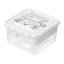 Buy SmartStore by Orthex Deco Plastic Sewing Box with Insert (8L) Online at johnlewis.com