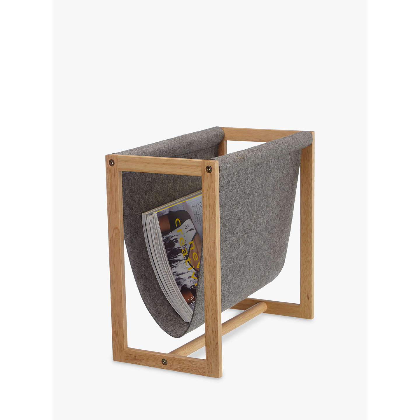 BuyHouse by John Lewis Felt Magazine Rack Online at johnlewis.com