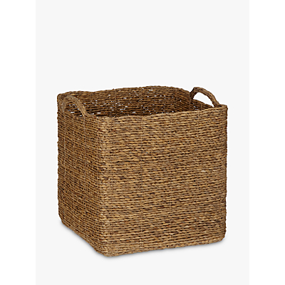 John Lewis Water Hyacinth Log Basket