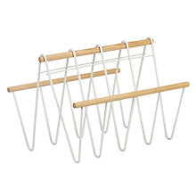 Buy John Lewis Scandi Magazine Rack Online at johnlewis.com