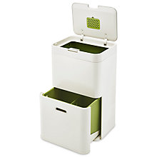 Buy Joseph Joseph Intelligent Waste Totem Recycling Separation Unit, 48L Online at johnlewis.com
