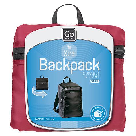 Buy Go Travel Small Foldable Travel Backpack, Multi   John Lewis