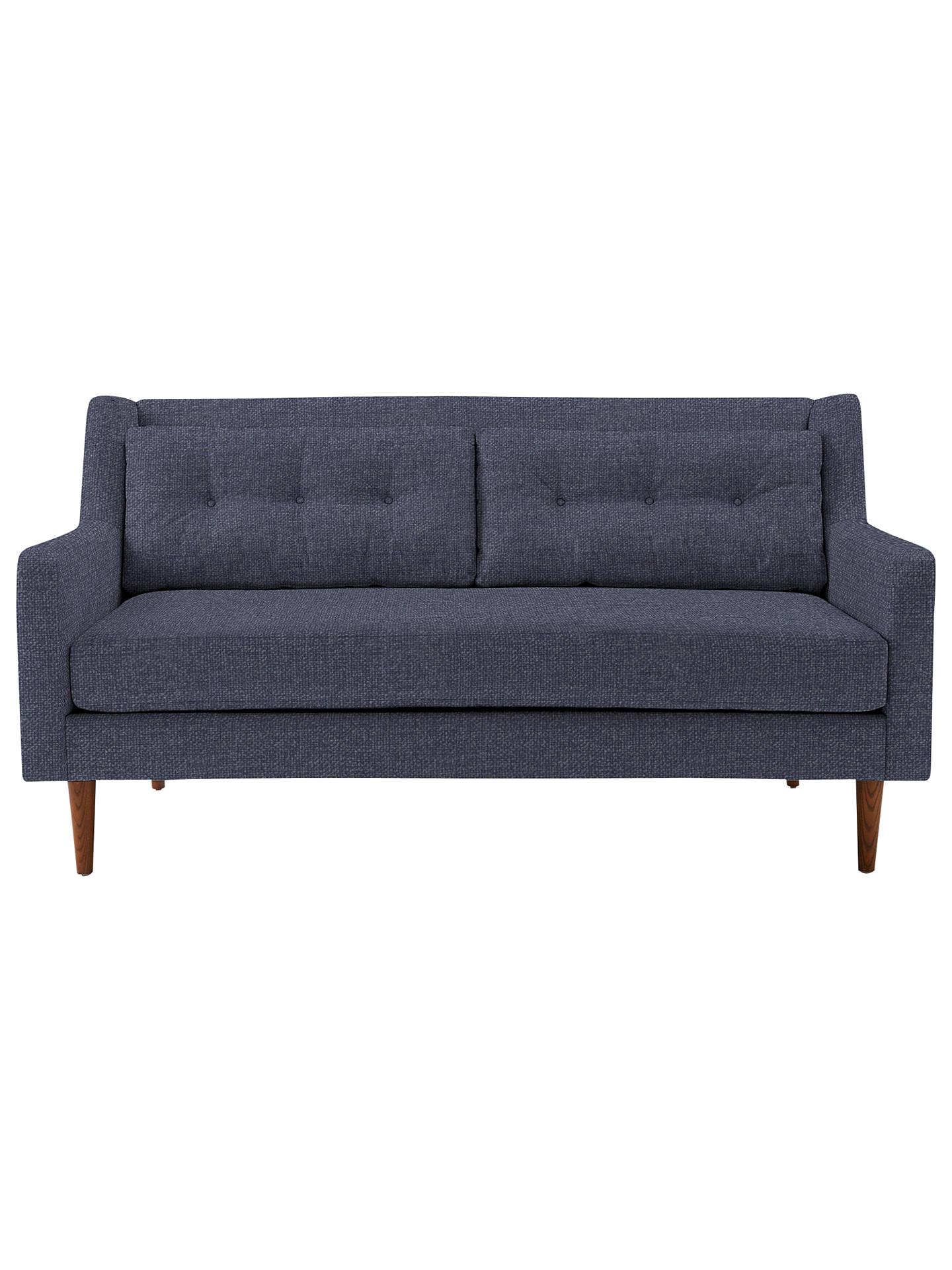 West Elm Crosby 2 Seater Sofa Aegean Blue At John Lewis
