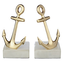 Buy John Lewis Coastal Anchor Bookends Online at johnlewis.com