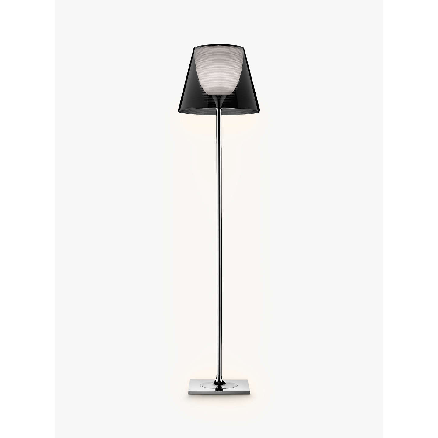 Flos ktribe f2 floor lamp smoke at john lewis buyflos ktribe f2 floor lamp smoke online at johnlewis aloadofball Choice Image
