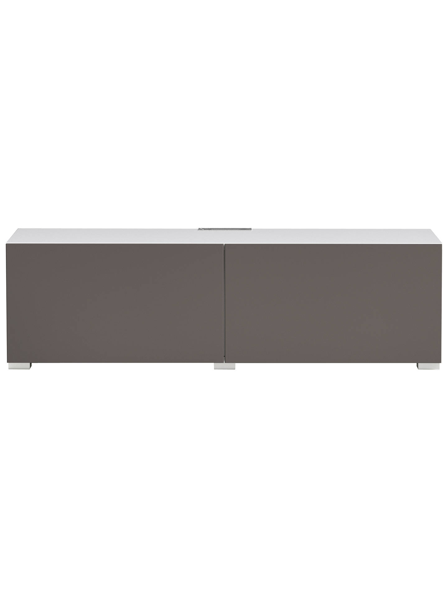 BuyHouse by John Lewis Mix it Media Unit - White frame / Mocha doors Online at johnlewis.com