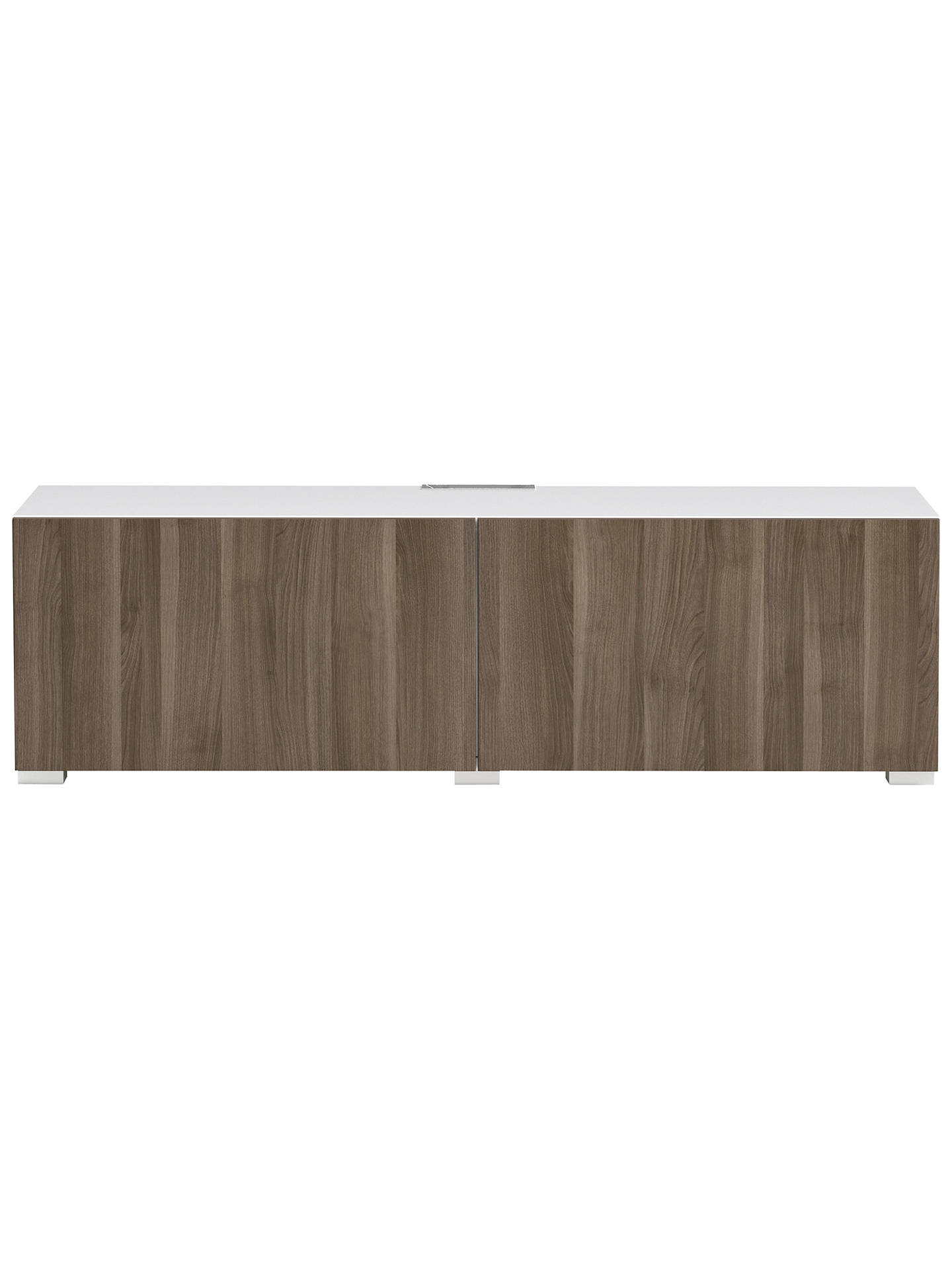 BuyHouse by John Lewis Mix it Media Unit - White frame / Grey ash doors steel doors Online at johnlewis.com