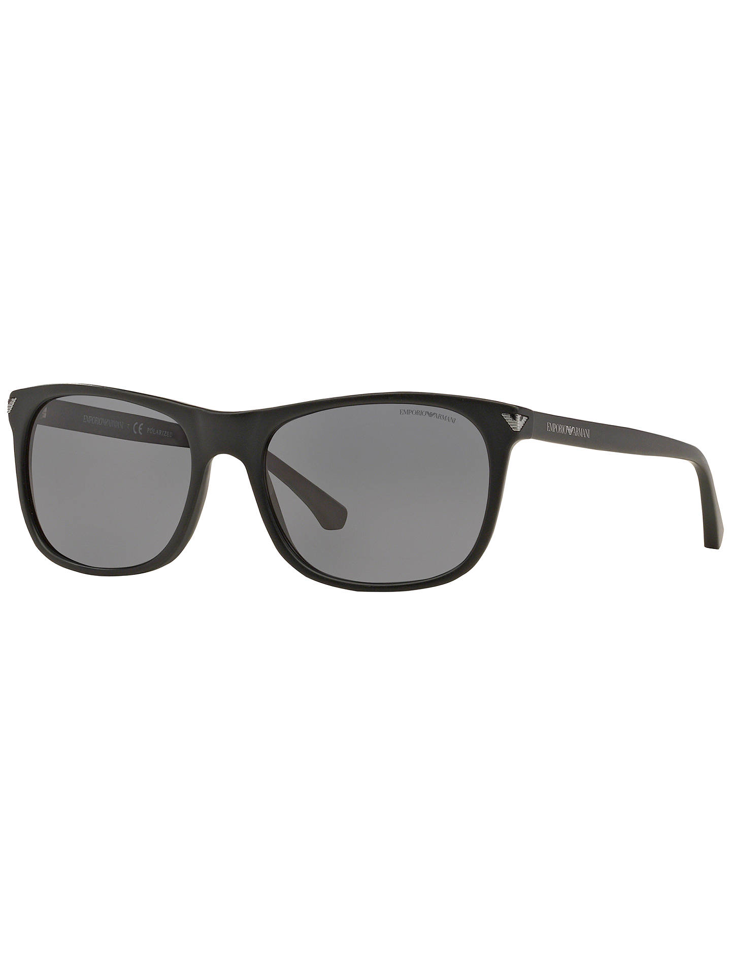 b86568566f5e Buy Emporio Armani EA4056 Polarised Rectangular Sunglasses