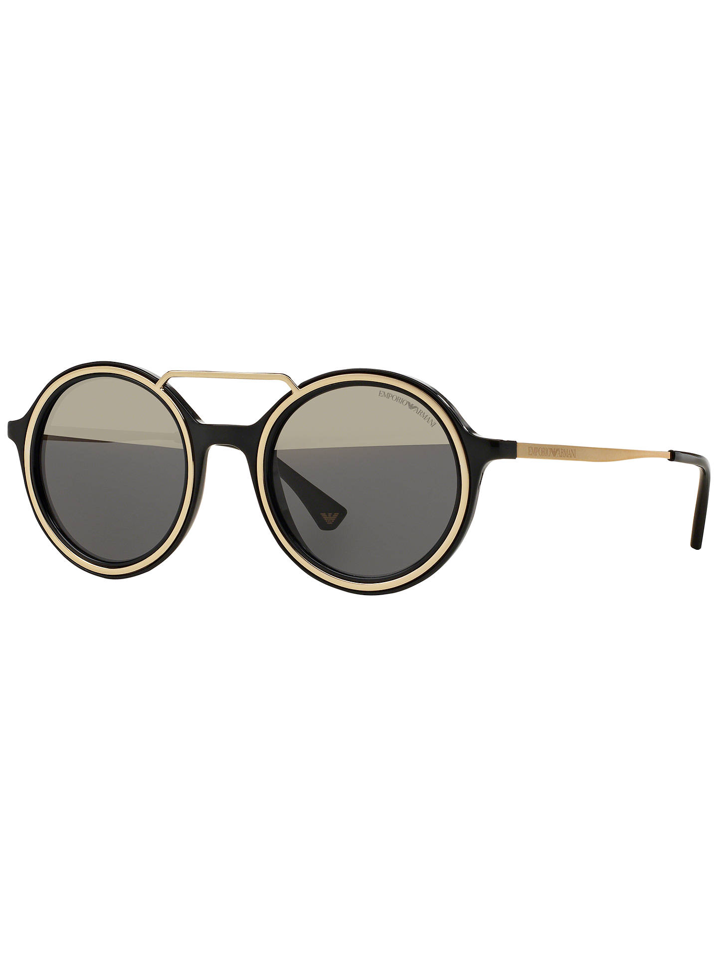 c8be8f2f94c Emporio Armani EA4062 Round Sunglasses at John Lewis   Partners